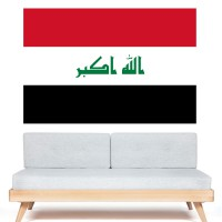 Stickers Autocollant Drapeau Irak