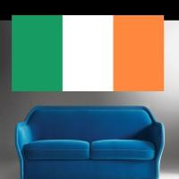 Stickers Autocollant Drapeau Irlande