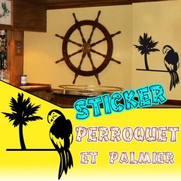 Stickers Perroquet 2
