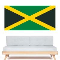 Stickers Autocollant Drapeau Jamaïque