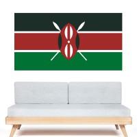 Stickers Autocollant Drapeau kenya
