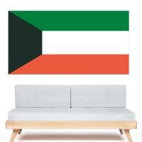 Stickers Autocollant Drapeau koweït