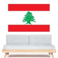 Stickers Autocollant Drapeau Liban