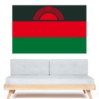 Stickers Autocollant Drapeau Malawi