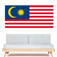 Stickers Autocollant Drapeau Malaisie