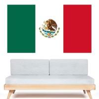 Stickers Autocollant Drapeau Mexique