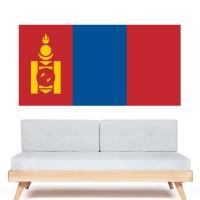 Stickers Autocollant Drapeau Mongolie