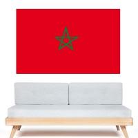 Stickers Autocollant Drapeau Maroc