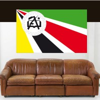Stickers Autocollant Drapeau Mozambique