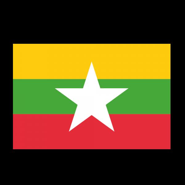 drapeau birmanie-