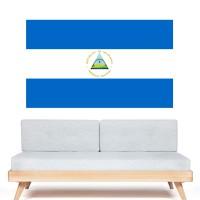 Stickers Autocollant Drapeau Nicaragua