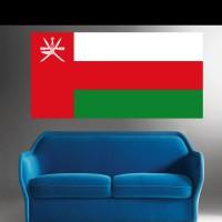Stickers Autocollant Drapeau Oman