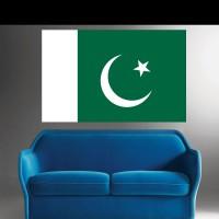 Stickers Autocollant Drapeau Pakistan