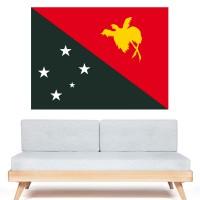 Stickers Autocollant Drapeau Papouasie Nouvelle Guinée