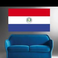 Stickers Autocollant Drapeau Paraguay