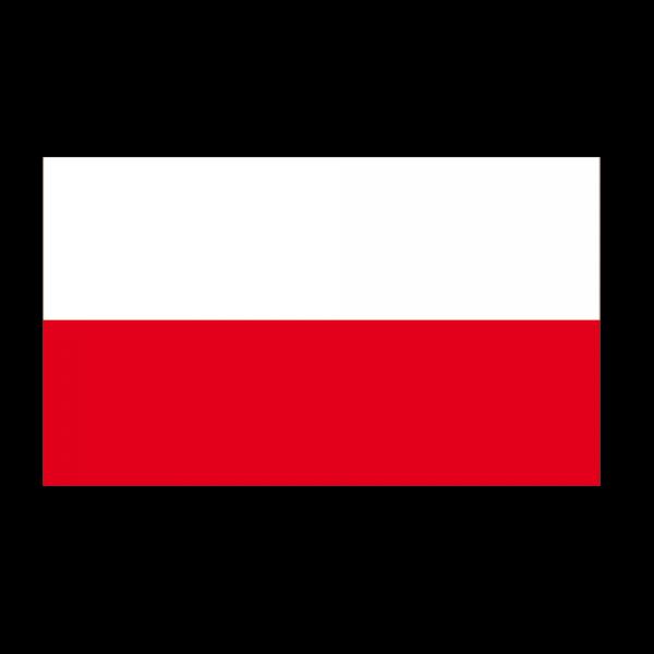 Autocollant stickers drapeau pologne pas cher france for Drapeau publicitaire exterieur pas cher