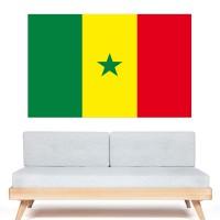 Stickers Autocollant Drapeau  Sénégal