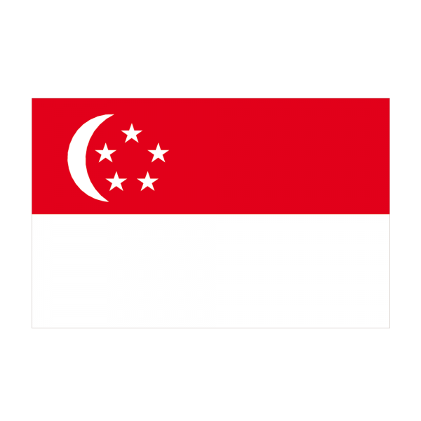 Autocollant stickers drapeau singapour pas cher for Drapeau publicitaire exterieur pas cher