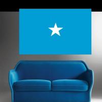 Stickers Autocollant Drapeau Somalie