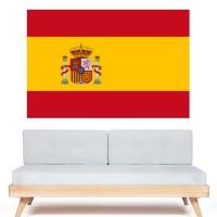 Stickers Autocollant Drapeau Espagne