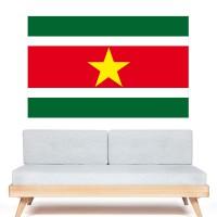 Stickers Autocollant Drapeau Suriname