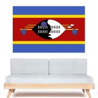 Stickers Autocollant Drapeau Swaziland ou Ngwane