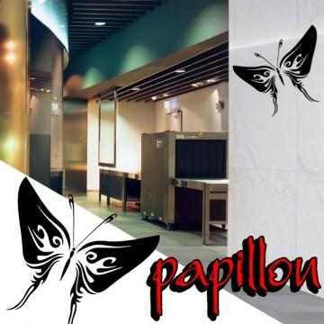 Stickers Papillon Tribal 4