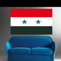 Stickers Autocollant Drapeau Syrie