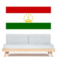 Stickers Autocollant Drapeau Tadjikistan