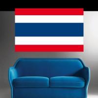 Stickers Autocollant Drapeau Thaïlande