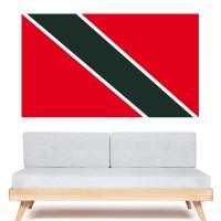 Stickers Autocollant Drapeau Trinité et Tobago