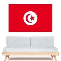 Stickers Autocollant Drapeau Tunisie