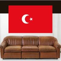 Stickers Autocollant Drapeau Turquie