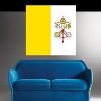 Stickers autocollant Drapeau Vatican