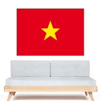 Stickers autocollant Drapeau Vietnam