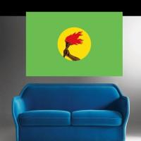 Stickers autocollant Drapeau République du Zaïre