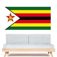 Stickers autocollant Drapeau Zimbabwe