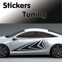 Stickers Tuning Flèche 1