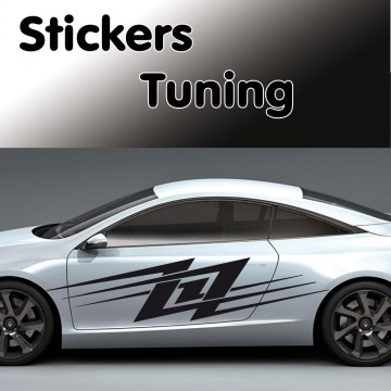Stickers Tuning st4 vendu par 2