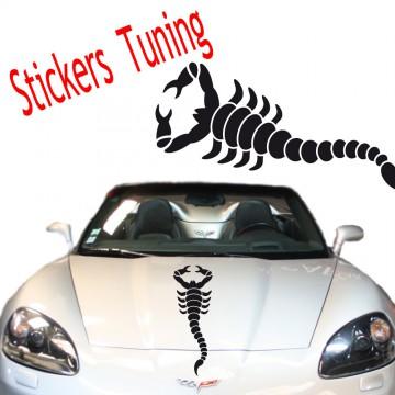 Stickers Tuning Scorpion