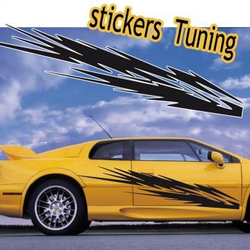 Stickers Tuning st2 vendu par 2