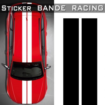 Stickers Bande Racing Voiture TUNING