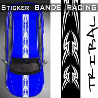 Stickers Voiture Bande Racing