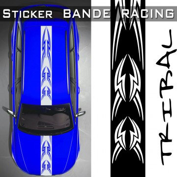 Stickers Voiture Bande Racing Tribal tuning