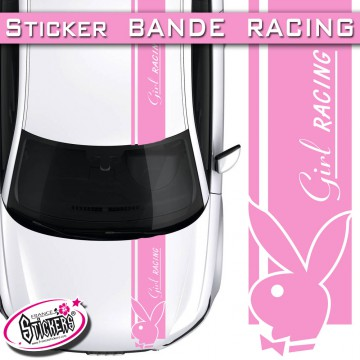 Stickers Bande Racing Voiture PlayBoy tuning