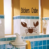 Stickers Crabe 8