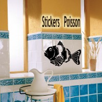 stickers autocollant  Poisson  14