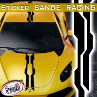 Stickers Bande Racing Voiture Diablo
