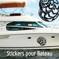Stickers Adhésif Escargot de mer 1