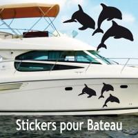 Stickers Adhésif Dauphin vendu par  3